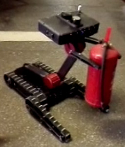 Robotic arm with a gripper